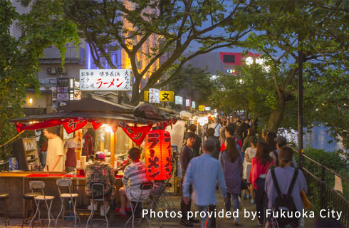 Fukuoka Food Stalls (Yatai)